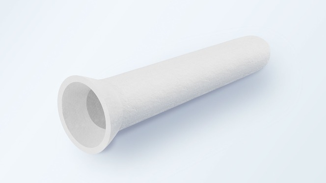 Hot gas filter cartridges